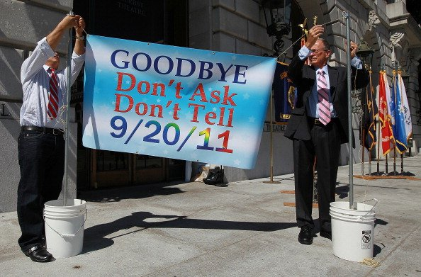 End Of Military's Don't Ask Don't Tell Policy Celebrated In San Francisco