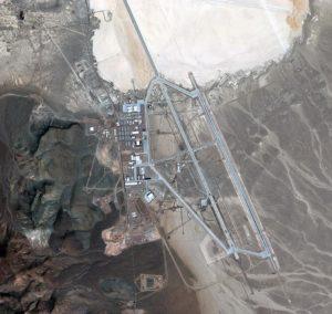 Satellite Image of Area 51, Southern Nevada, United States
